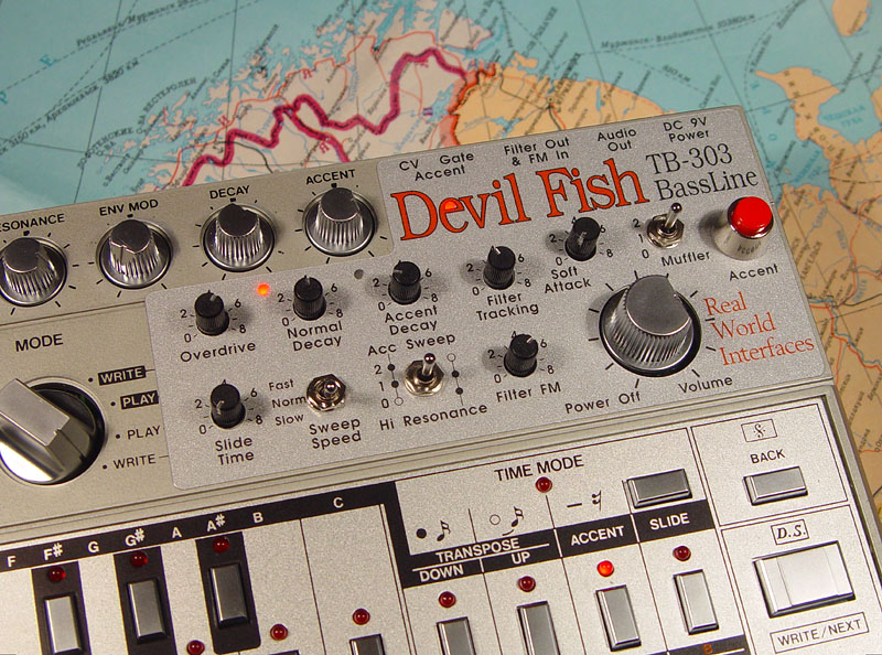 Devil Fish mods for the TB-303