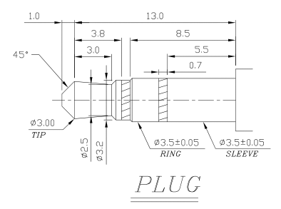 35mm mono plug wiring diagram 3.5mm mono plug wiring diagram