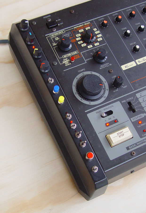 Modifications for the Roland TR-808