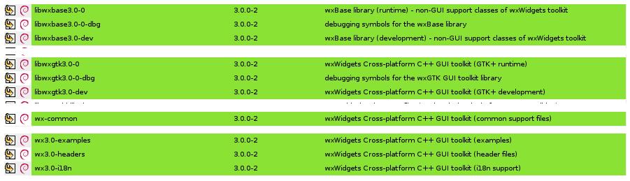 Codelite 5 4 compiliation on Debian 8 (testing)