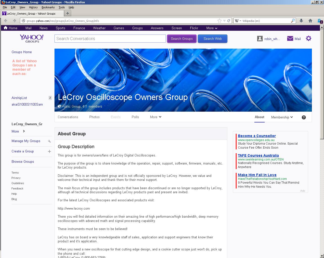 Yahoo groups focused on sex change